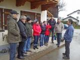 Die Freie Bürgerliste Laufen informiert sich vor Ort über die Situation der Landwirte