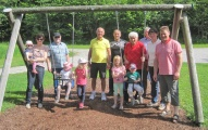 FÜW Saaldorf-Surheim informiert sich über Spielplätze